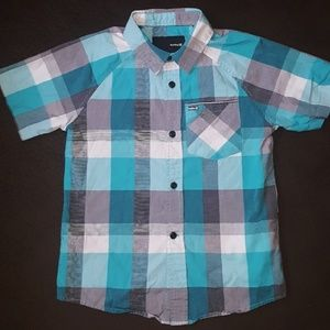 Boys Hurley Button Down Shirt